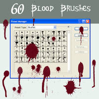 Blood - Ink Brushes by SkeIator