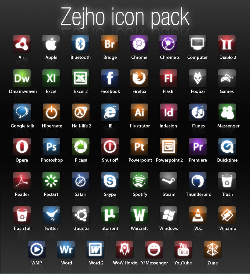 Zejho icon pack by Zejho