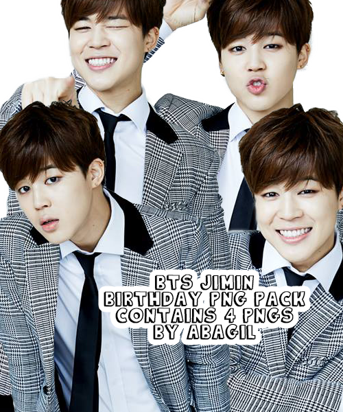 Bts Jimin Birthday Png Pack By Abagil On Deviantart