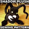 Shadow Heartless Plush Pattern