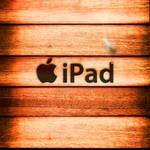 iPad Wallpaper - Wood Burnt
