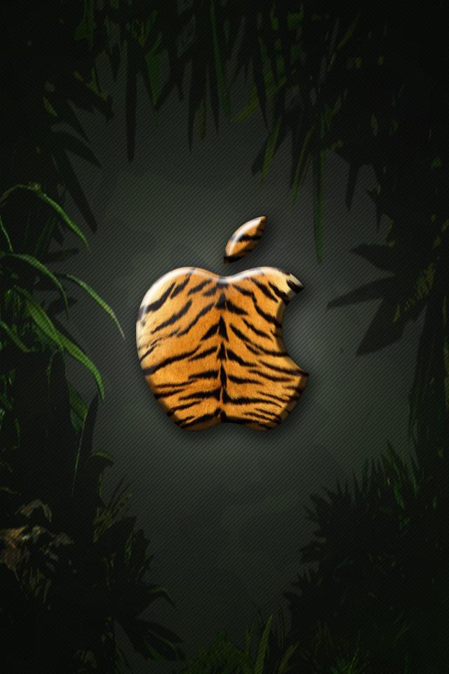 iPhone Wallpaper - Tiger