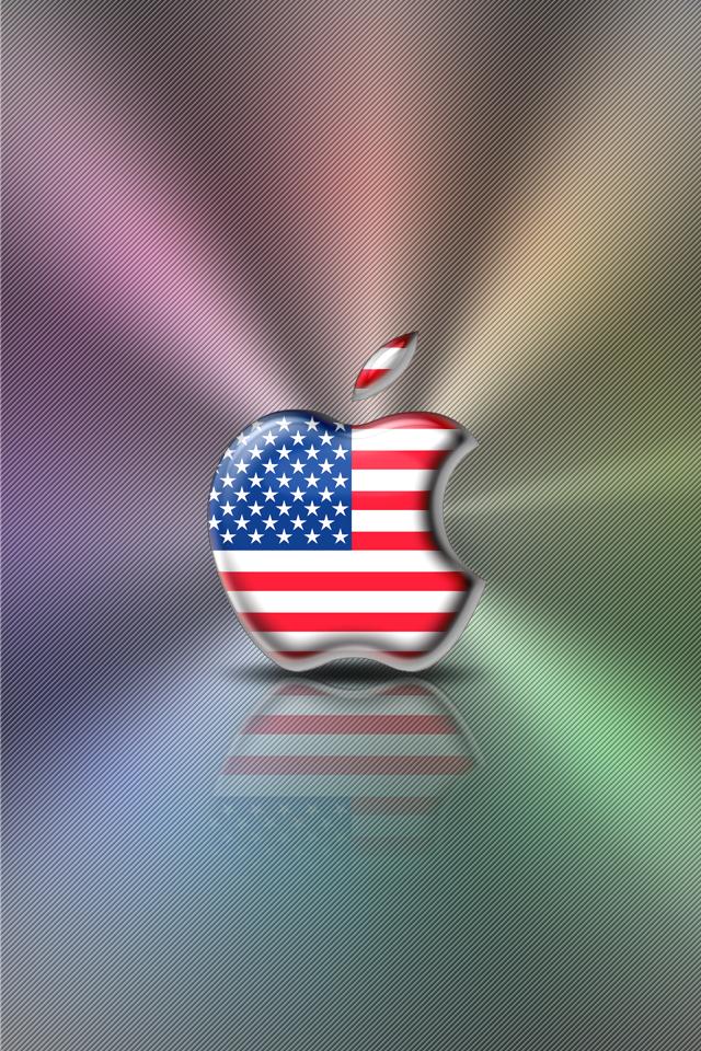 Iphone Wallpaper Flag Series U S A By Laggydogg On Deviantart