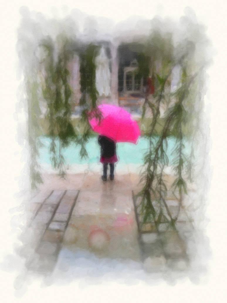 In the Rain by WorldsEdge