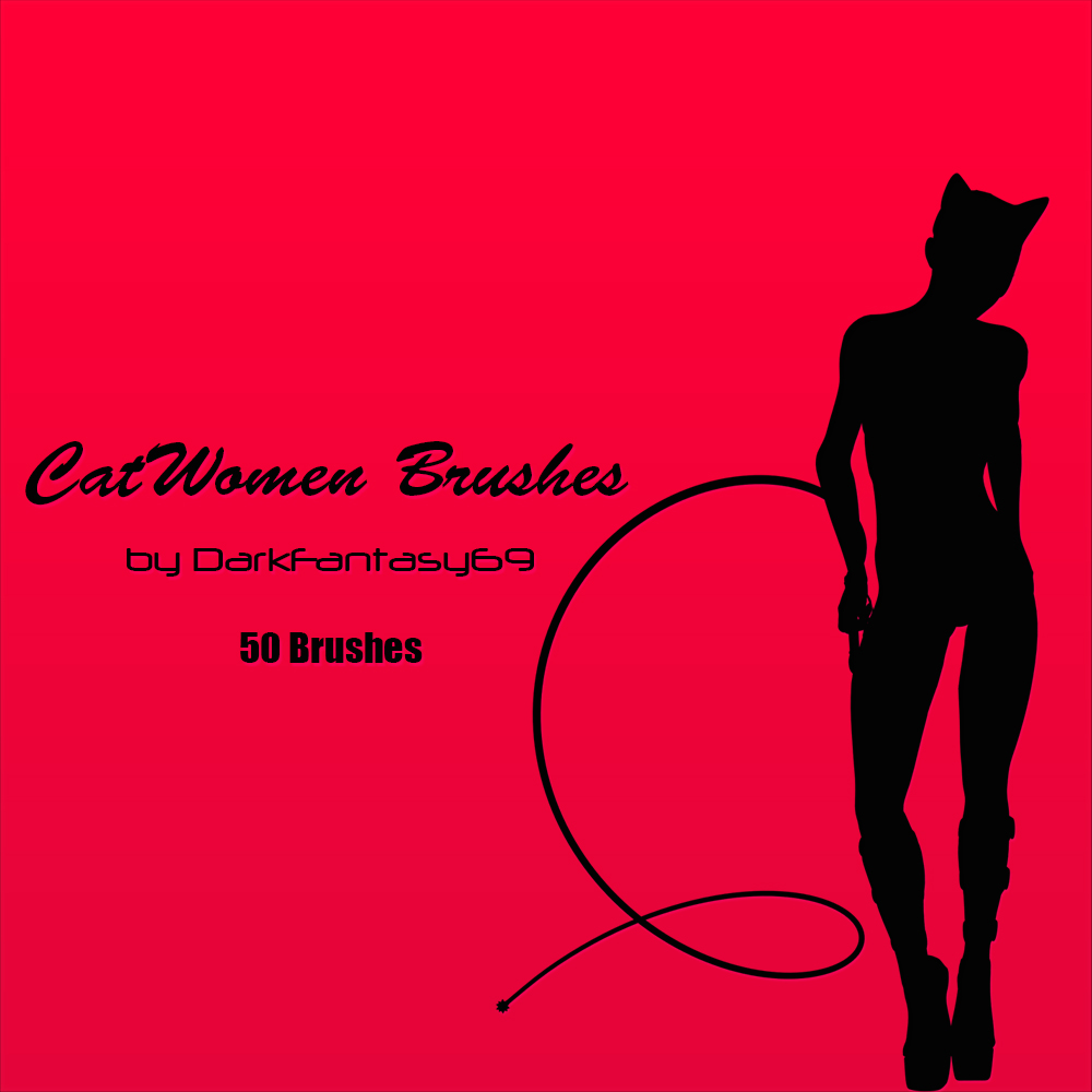 Cat Women Brush Pack by DarkFantasy69