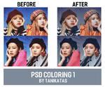 PSD coloring 1 by TanikaTAS by TanikaTAS