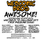 Free Font: Webcomic Bros