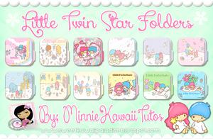 Cute Folders Little Twin Star (Carpetas) by MinnieKawaiiTutos