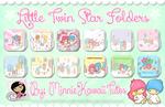 Cute Folders Little Twin Star (Carpetas)
