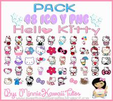 Pack De Iconos Hello Kitty by MinnieKawaiiTutos