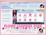 Plump Leopard Pink Iconpackager