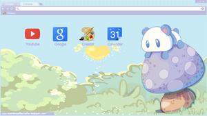 Kawaii Panda Theme For Google Chrome