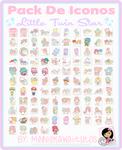 Pack De Iconos Little Twin Stars