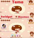 Tema Mocmoc Xwidget