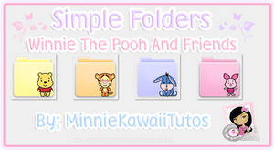 Simple Folders Pooh And Friends