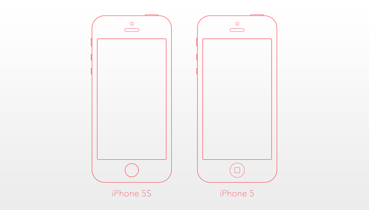 Mockup Application Iphone