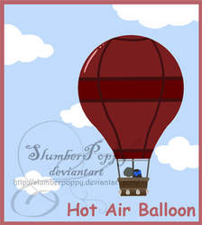 FLASH-Hot Air Balloon by SlumberPoppy