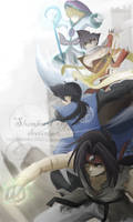 BEYBLADE-FantaRPGwptake2 by SlumberPoppy
