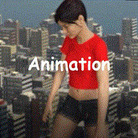 Giantess First Animation Test
