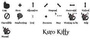 Kuro Kitty Cursors