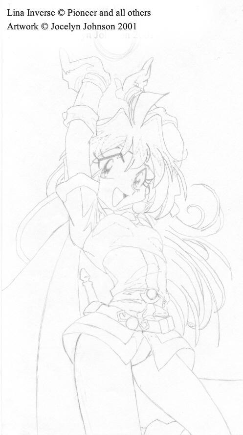 Dragon Slaaaaaaaave -- Lina