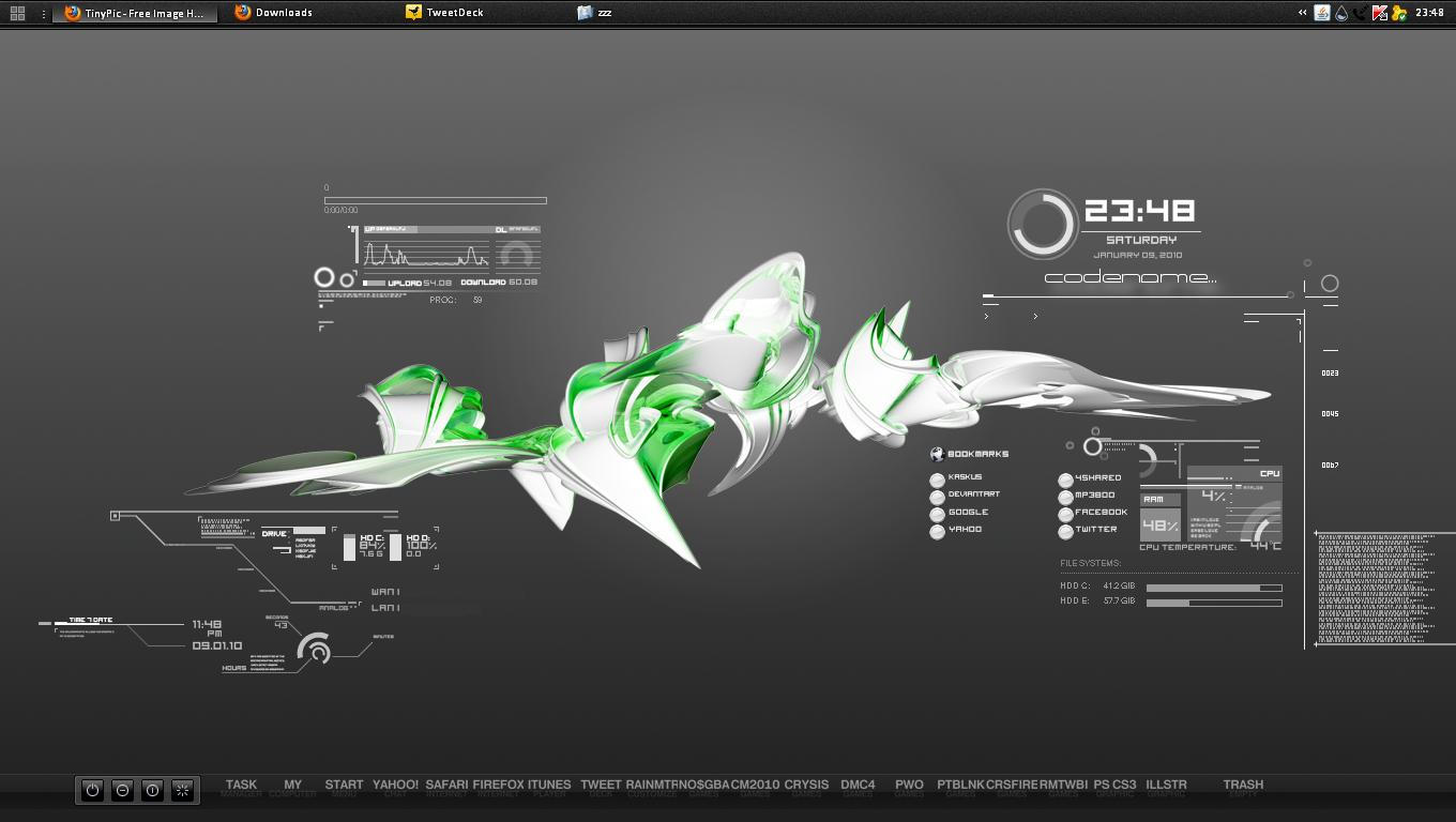 Flyaway for rainmeter by crucafix on deviantart for Deviantart rainmeter