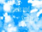 Clouds and smoke