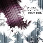 Hair Texture Pack plain