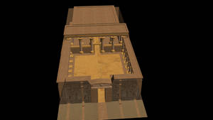 Egypt Temple Finished by Lowdsian