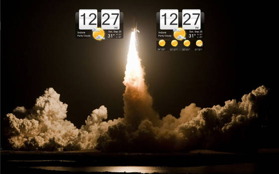 mii HTC Sense Clock+forecast by abu46