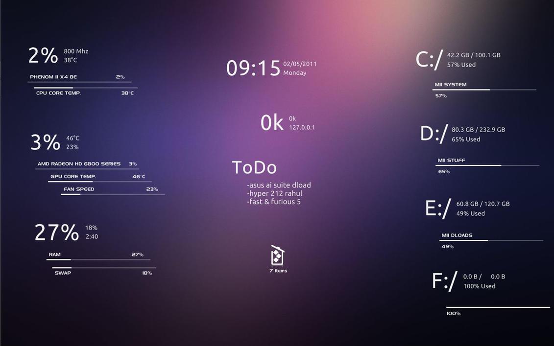 mii system skin 2 by abu46