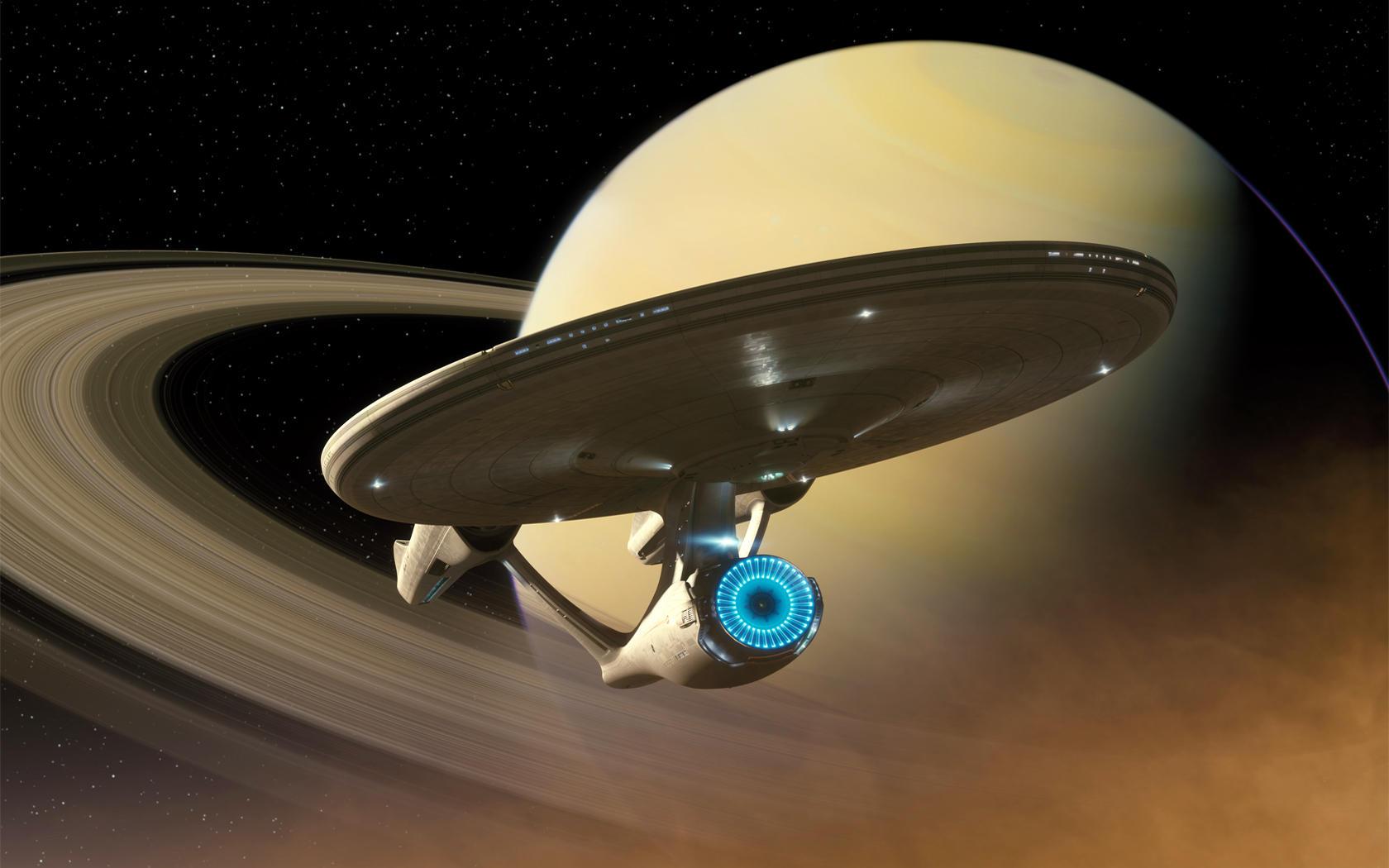 Star Trek 2009 - Enterprise by Dannydeman