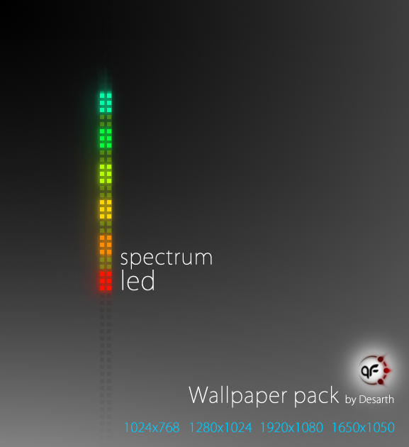led wallpaper. Spectrum LED Wallpaper Pack by