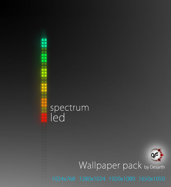 Spectrum LED Wallpaper Pack