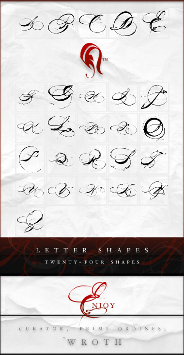 Shapes - Letters - 2