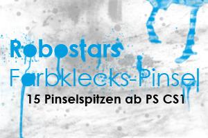 Robostar PS Brushes ~ Color Splatters