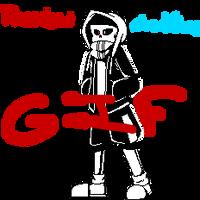 Undertale GIF - Lost!Sans by Orez-Suke