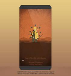 Naruto Six Paths Sage Mode Mobile Wallpaper by SL4eva