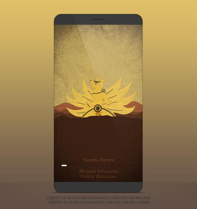 kurama naruto mobile wallpaper by sl4eva d8jk6xz fullview