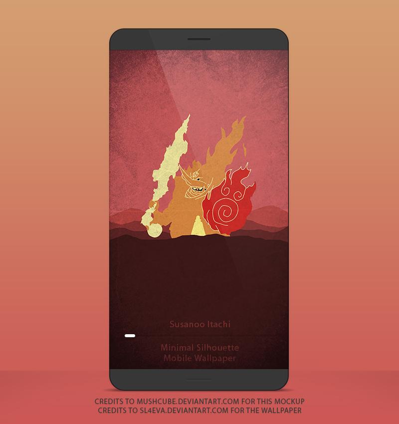 Susanoo Itachi Mobile Wallpaper By Sl4eva On Deviantart