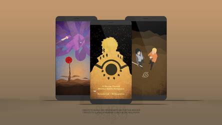 [4K] Naruto Minimal Mobile Wallpapers Remastered by SL4eva