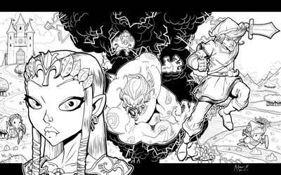 The Legend of Zelda by AdamMasterman