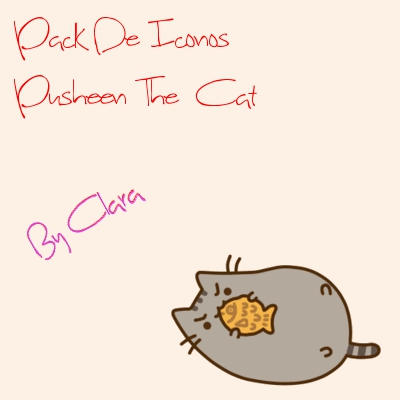 Pack De iconos - Pusheen cat by clara45910