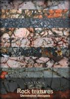 Rock textures by CAStock