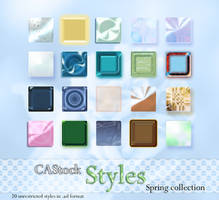 Spring Collection Styles by CAStock