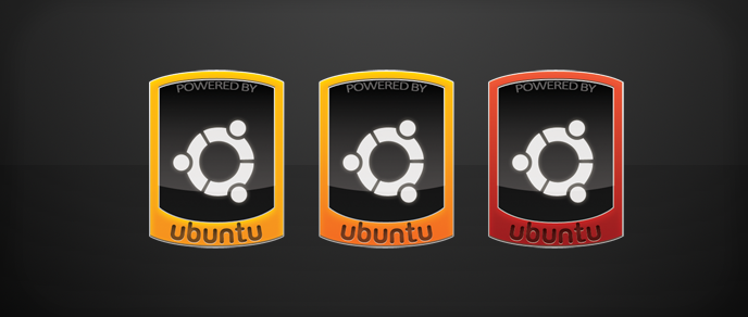 Ubuntu case stickers by Andrey-S