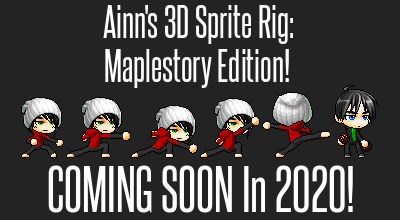 Coming Soon 2020! | Ainn's 3D Sprite Rig v0.3-beta