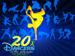 20 dancers brushes by wassimo-des