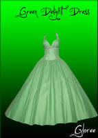 Green Delight Dress by Gloree