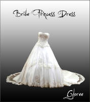 Bride Princess Dress by Gloree